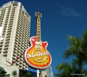 Hard Rock Café, Surfers Paradise