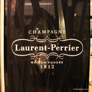 Laurent-Perrier Dinner at The Marriott