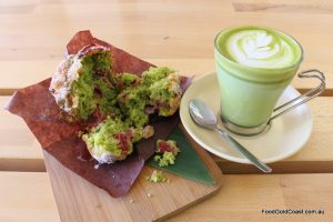 Chanoya's Matcha Muffin recipe