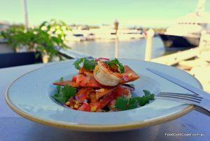 Dining at the Gold Coast Marina