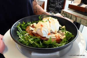 Corn and Zucchini Fritters Recipe, The Shack Café Mudgeeraba